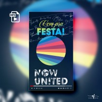 Convite Animado Now United All Day